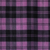 WinterFleece Fabric - Double Take Plaid - Orchid