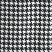 WinterFleece Fabric Houndstooth - Black 30477-1
