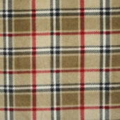WinterFleece Fabric - London Plaid - Camel
