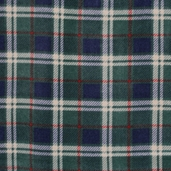WinterFleece Fabric - London Plaid - Green