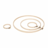 Wood Embroidery Hoop 6 inch - Pkg of 6