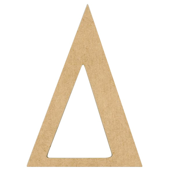 Wood Greek Letter 6in. - Delta - Beverlys.com