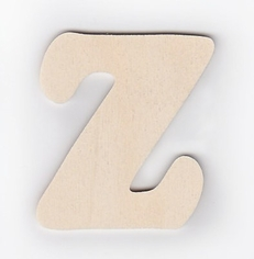 "3"" Ultra Thin Wood Letters"