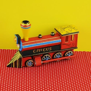 Wooden Circus Train