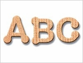 Wooden Letters 1-1/2 inch Dot to Dot Letter Packs