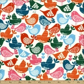 Woodlands Cotton Fabric - Woodstock J3229-540