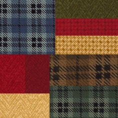Wool and Needle II Flannel by Moda Fabric