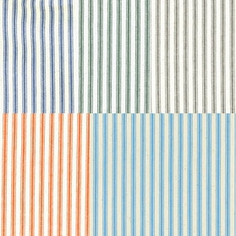 Woven Striped Ticking