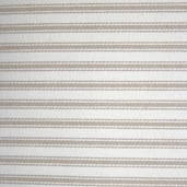 Woven Striped Ticking from James Thompson and Co. Inc. - Khaki/ Cream