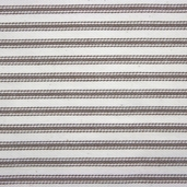 Woven Striped Ticking from James Thompson and Co. Inc. - Potting Soil Brown / Cream