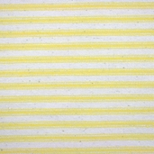 Woven Striped Ticking from James Thompson and Co. Inc.- Sun Yellow / Cream