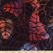 "Xtonga 106"" Wide Batik Backing Cotton Fabric - Nocturnal B1112-NOCTURNAL"