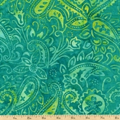 "Xtonga 106"" Wide Batik Backing Cotton Fabric - Paradise B9526-PARADISE"