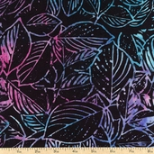 "Xtonga 106"" Wide Batik Backing Cotton Fabric - Viola B1115-VIOLA"