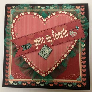 """You're My Favorite"" Card"