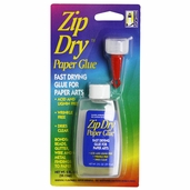 Zip Dry Paper Glue - 2oz.