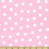 Zoo Babies Cotton Fabric - Pink 31284-2