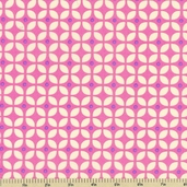 Zoo Menagerie Cotton Fabric - Icons Pink - CLEARANCE