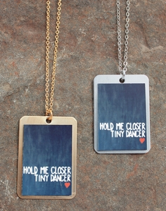 Hold me Closer Necklace
