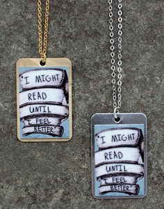 I Might Read Necklace