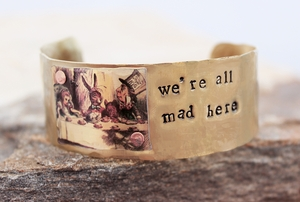 Mad Tea Party Cuff