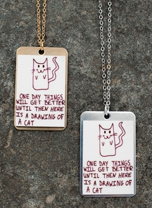 """Picture of a Cat"" Necklace"