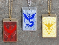Pokemon Team Dog Tags