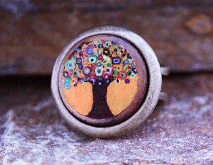 Swirl Tree Ring