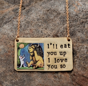 """Where the Wild Things Are"" Necklace"