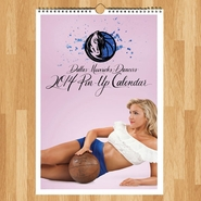 Dallas Mavericks 2014 Dancers Pin-Up Calendar
