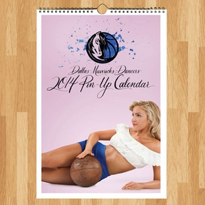 Dallas Mavericks 2014 Dancers Pin-Up Calendar - Click to enlarge