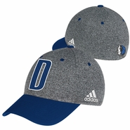 Dallas Mavericks adidas 2013-2014 Authentic Team Flex Cap - Charcoal