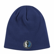 Dallas Mavericks adidas Basic Knit Beanie - Navy