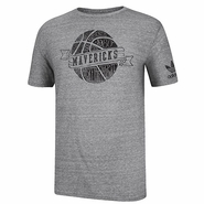 Dallas Mavericks adidas Basketball Club Tee-Grey