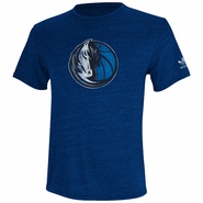 Dallas Mavericks adidas Bigger Better Logo Triblend Tee - Navy
