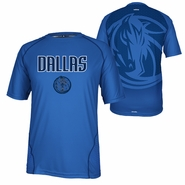 Dallas Mavericks adidas CLIMALITE Resonate Team Tee - Blue