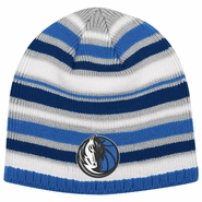 Dallas Mavericks adidas Multi Color Striped Knit Skully Cap