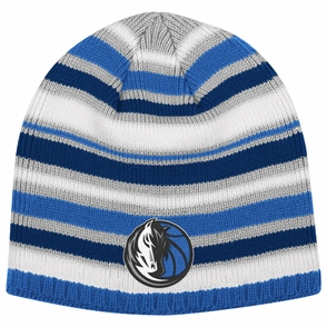 Dallas Mavericks adidas Multi Color Striped Knit Skully Cap - Click to enlarge