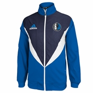 Dallas Mavericks adidas Resonate Jacket - Blue/Navy