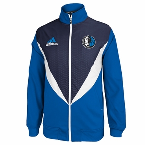 Dallas Mavericks adidas Resonate Jacket - Blue/Navy - Click to enlarge