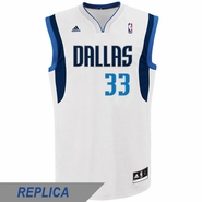 Dallas Mavericks adidas Revolution 30 Gal Mekel Replica Home Jersey - White