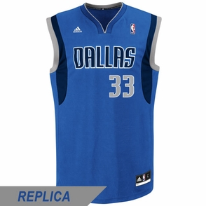 Dallas Mavericks adidas Revolution 30 Gal Mekel Replica Road Jersey - Royal - Click to enlarge