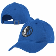 Dallas Mavericks adidas Washed Slouch Cap - Blue