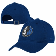 Dallas Mavericks adidas Washed Slouch Cap - Navy