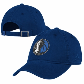 Dallas Mavericks adidas Washed Slouch Cap - Navy - Click to enlarge