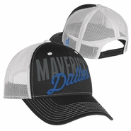 Dallas Mavericks adidas Women's Mesh Trucker Cap - Black/White