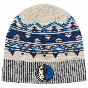 Dallas Mavericks adidas Women's Tribal Pattern Knit Hat - Click to enlarge