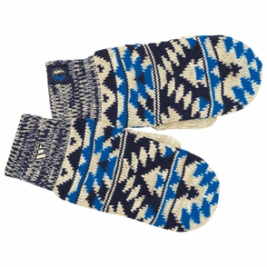 Dallas Mavericks adidas Women's Tribal Pattern Knit Mittens - Click to enlarge