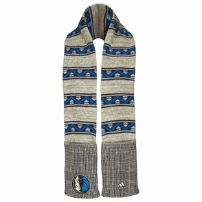Dallas Mavericks adidas Women's Tribal Pattern Knit Scarf - Click to enlarge