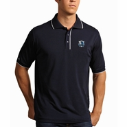 Dallas Mavericks Antigua Men's Elite Short Sleeve Polo Shirt - Navy